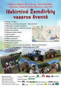 žemdirbių šventė 2014