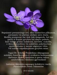 Velykos_2015 LUS