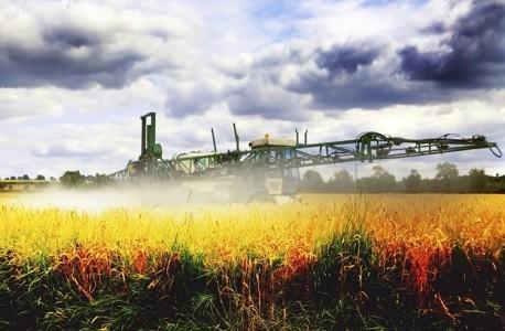 purškimas ant derliaus