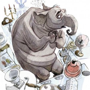 Chin Shop Elephant Full _C.B.Decker illustrator