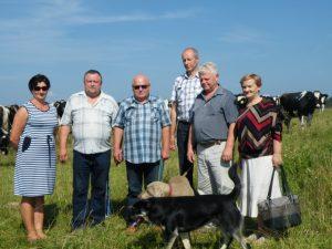 Prienų komisija ir ūkininkai Raižiai