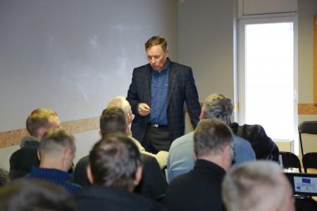 LŪS R.Keln diskusija su nariais