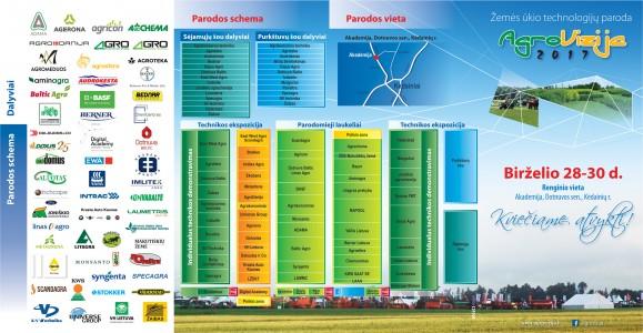agrovizija lankstinukas 2017