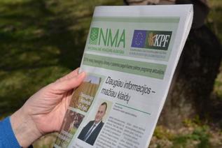 NMA laikraštis